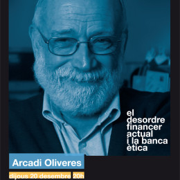 Arcadi Oliveres: «Als bancs se'ls ha de deixar caure i als banquers portar-los a la presó»