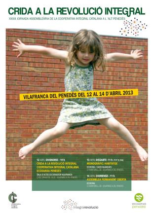 12-14 d'abril: XXXIII Jornada assembleària a Vilafranca del Penedès