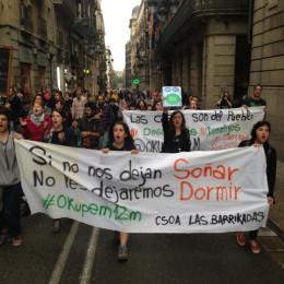 Desallotgen el CSOA Las Barrikadas