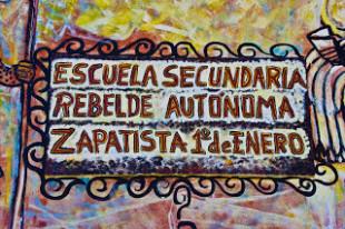 A l'agost, escoleta zapatista a AureaSocial