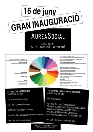 Inauguración de AureaSocial