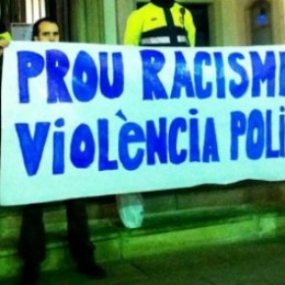 Violència i detencions racistes a Terrassa