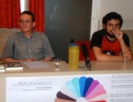 Enric Duran i Félix Rodrigo presenten el fons de col·lectivització d'AureaSocial
