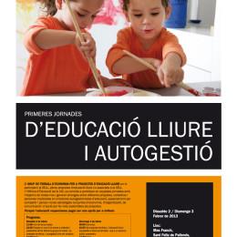 Primeres Jornades d'educació lliure: 2 i 3 de febrer al Mas Franch