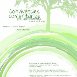 Convivències d'adolescents a l'Albada del 26 al 30 d'agost