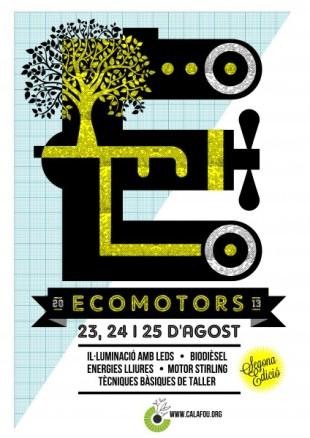 23-25 de agosto. Segundas Jornadas de Ecomotors en Calafou