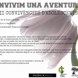 Del 2 al 5 de gener. III Convivències per a Adolescents a Som Comunitat