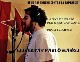 Pablo Hasél s'enfronta a 2 anys de presó per expressar-se lliurement