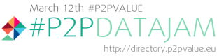 Launch and Data Jam of the P2Pvalue Directory of Commons Based Peer Production