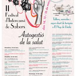 II Festival d'Intercanvi de Sabers a Lleida: autogestió de la Salut