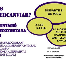 31 de maig: es presenta l'Ecoxarxa La Mola a Sant Llorenç Savall