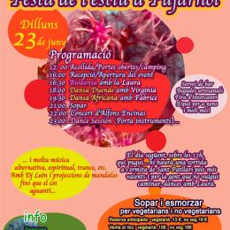 Sant Joan, Festa de l'estiu a Pujarnol
