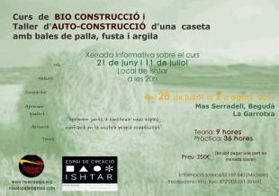 Curs de bioconstrucció al Mas Serradell