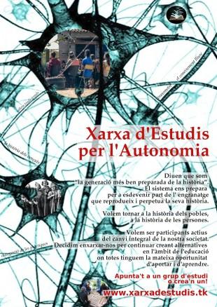 Ja està en funcionament la Xarxa d'Estudis per l'Autonomia