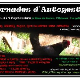 Jornades d'Autogestió a Mas de Carro (4-7 setembre)