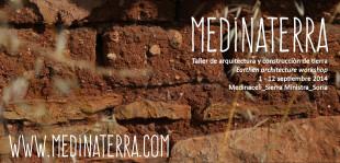 MedinaTerra, construcció amb terra a Sòria de l'1 al 12 de setembre