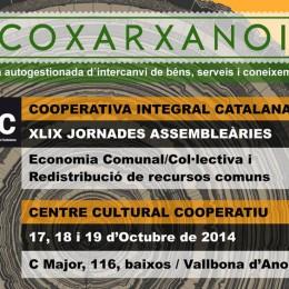 17-19 d'octubre. XLIX Jornades : la redistribució dels recursos comuns