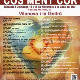 15-16 de novembre. Jornades de salut Cos, Ment, Cor a Vilanova i la Geltrú