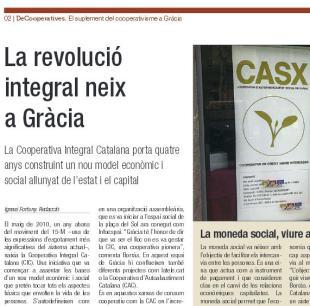 """La CIC a """"L'independent de Gràcia"""""""