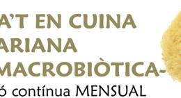 Formació en cuina vegetariana, amb base macrobiòtica, a l'Espai de l'Harmonia