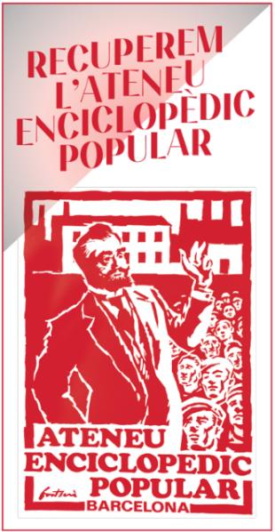 L'Ateneu Enciclopèdic Popular fa campanya per reclamar a l'Ajuntament el seu local