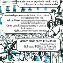 Crónica de la mesa redonda en Palencia sobre los bienes comunales