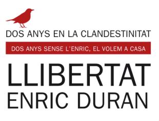 Comunicat de suport per al #RetornEnLlibertat d'Enric Duran