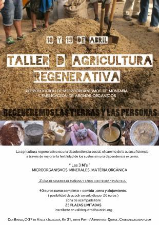 Se suspenen les Jornades d'Agricultura Regenarativa a Can Biarlu