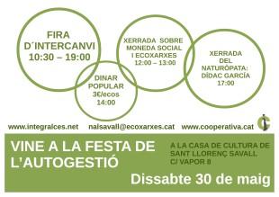 30 de maig. Festa de l'autogestió a Sant Llorenç Savall
