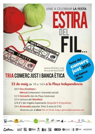 23 de maig. Fira de moneda social a Girona
