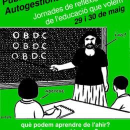 29 i 30 de maig a Barcelona. Jornades de reflexió entorn de l'educació que volem