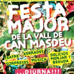 9 de maig. Festa Major de la Vall de Can Masdéu