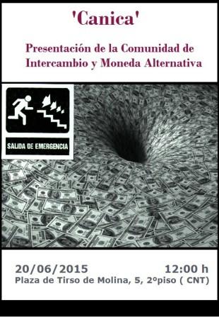 Presentan la Canica, moneda alternativa madrileña