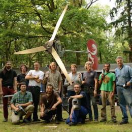 22-30 d'agost. Autoconstrucció d'un aerogenerador a Som Comunitat