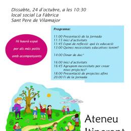 24-O. Jornada d'educació lliure i respectuosa a Sant Pere de Vilamajor