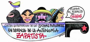 Pronunciamiento internacional ante la agresión a dos zapatistas