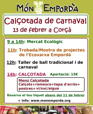 13 de febrer. 1a trobada de projectes a Corçà de l'Ecoxarxa Empordà i la CIC