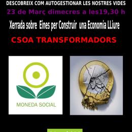23/03. L'Ecoxarxa del Poblet presenta les eines per a l'economia lliure