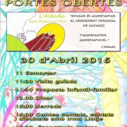 30 d'abril. L'Albada obre les portes de l'educació viva i celebra la primavera