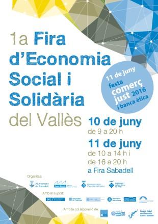 10 i 11 de juny. 1a Fira d'Economia Social i Solidària del Vallès