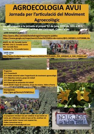 12 de juny. Trobada per articular el moviment agroecològic