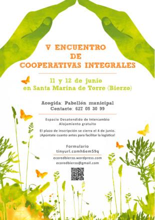 11-12 de juny. V Trobada de Cooperatives Integrals al Bierzo