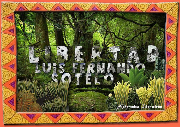 Davant la sentència contra Luis Fernando Sotelo, adherent de la Sexta