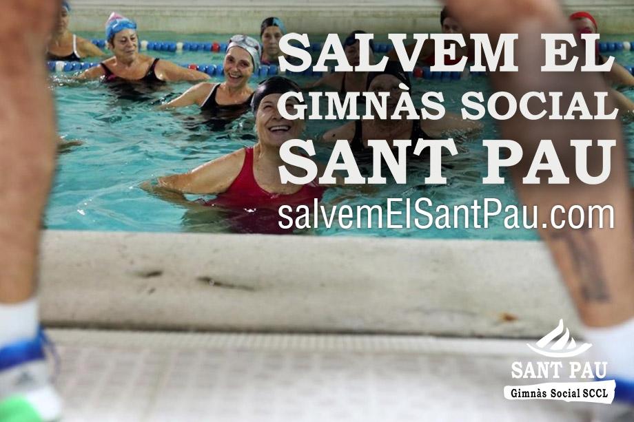 El Gimnàs Social Sant Pau del Raval necessita suport per salvar-se