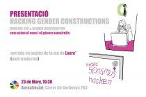 23 de març: com es construeixen el sexe i el gènere, xerrada a AureaSocial