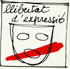 """Cassolada per la Llibertat d'Expressió,protesta pacífica contra """"El Gobierno de España"""""""