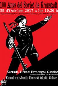 Kronstadt dins el context del Centenari de la Revolució Russa 1917-2017