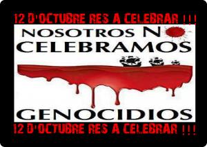 Nosaltres No celebrem Genocidis…