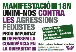 Unim-nos Contra les agressions feixistes