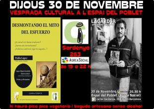 Lagarder Danciu, l'activista «Políticament Incorrecte» 30-11-17